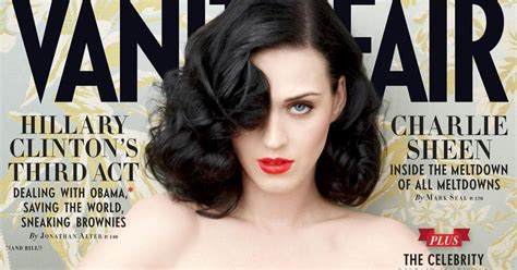 16 Years 15 Beautiful Vanity Fair Issue Covers by Fashion Oulala Katy Perry Vanity Fair June 2011