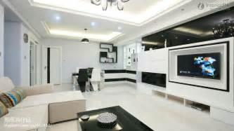 home tv modern minimalist home design living room tv background