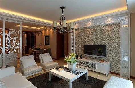Elegant Living Room Wallpaper 19 Renovation Ideas