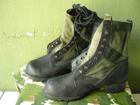 Sepatu Boot Tni Ad koleksi militer jadoel sepatu boot