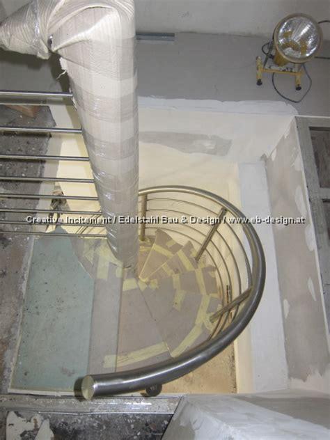 niro stiegengeländer treppe mit gel 228 nder gewendelt aus edelstahl