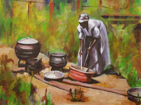 painting cooking mw artco painting study cooking