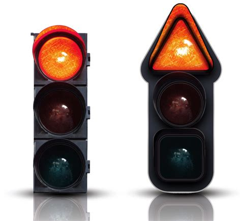 Blind To Reality Uni Signal Traffic Lights For Color Blind People