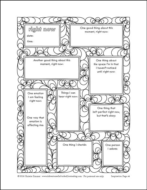 printable journal prompts experimenting in your journal and a new printable journal