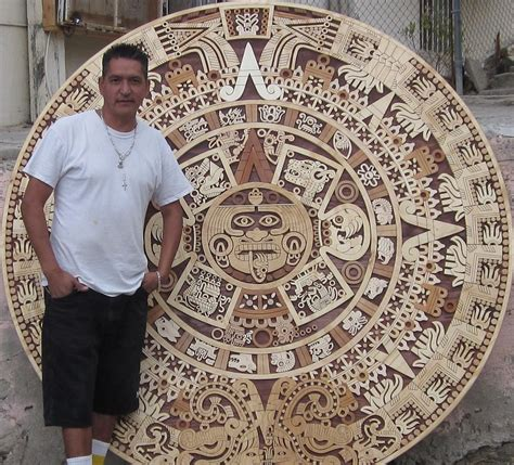 how to make an aztec calendar custom aztec work aztec calendar calendario aztec
