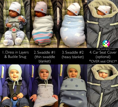 how can newborn stay in car seat the car seat cold weather tips