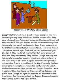 coat of many colors bible story joseph s coat sunday school lesson search engine