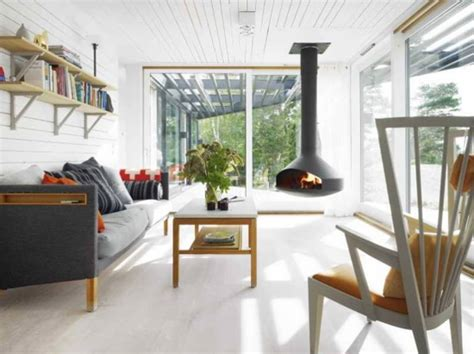 fresh home interiors get the look scandinavian vacation home popsugar home