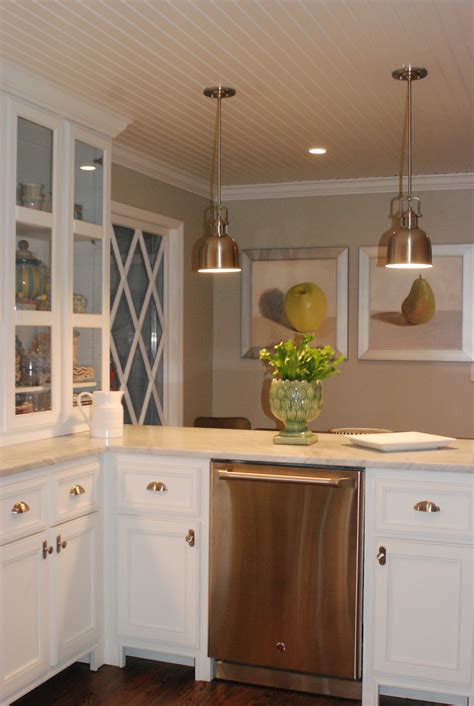 white walls white cabinets kitchen love the cream countertops against the white
