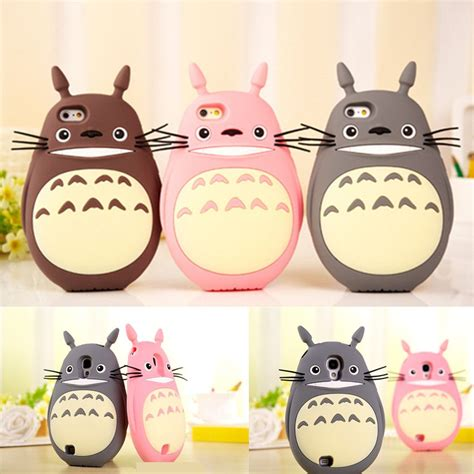Iphone Piglet Pooh Jelly 3 colors totoro iphone samsung phone sp153334 cases