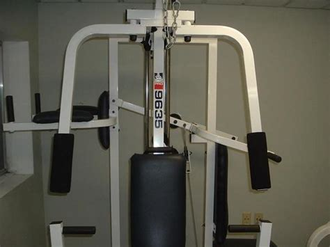 weider pro 9635 home working local up only ebay