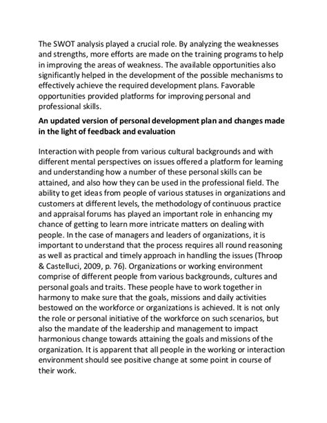Community Development Essay by Personal Development Essay Personal Development Essay On Leadership Exles Of Self Reflection