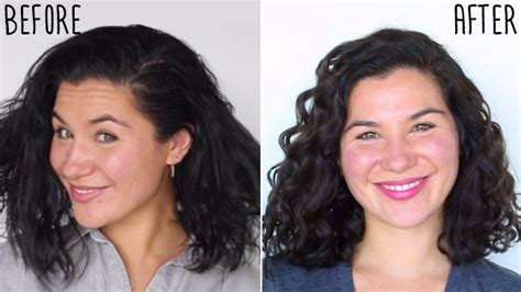 hair essentials before and after how to get your curls back in a snap naturallycurly com