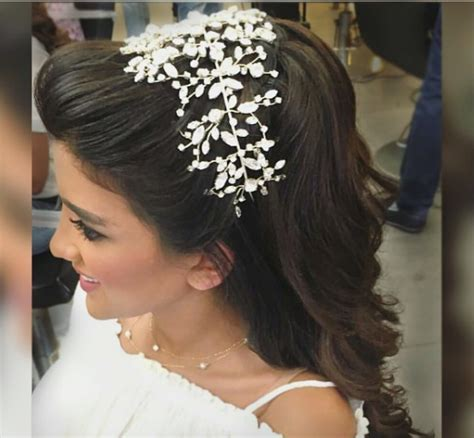 Arabic Wedding Hairstyles by Bridal Hair Trends Arab Brides Are Loving Arabia Weddings