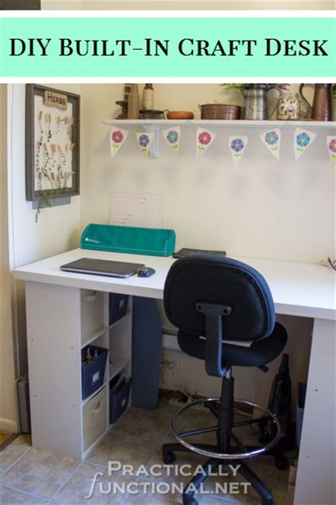 Built In Desk Diy Of The Week 1 Who Needs A Cape