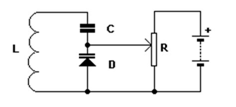 varicap diode circuit varicap diode tutorial and circuits varicap diodes diodes electronic hobby projects