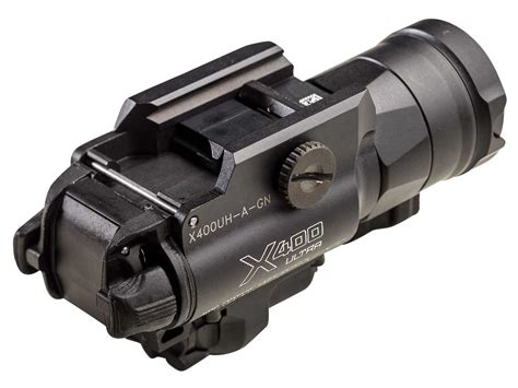 pistol mounted light and laser surefire x400uh weapon light with laser sight