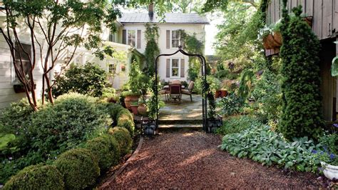 southern backyard shady garden design ideas southern living