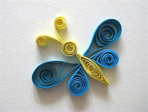 Quilling Paper Craft Ideas - easy paper quilling butterfly for ideas arts and