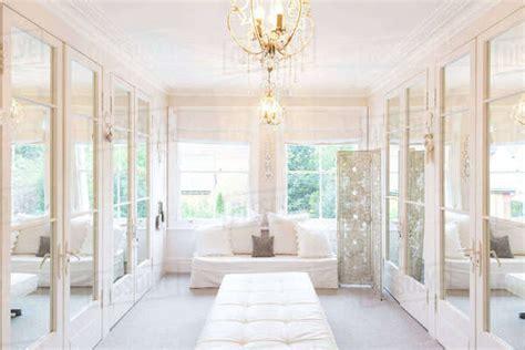 white luxury home showcase interior dressing room
