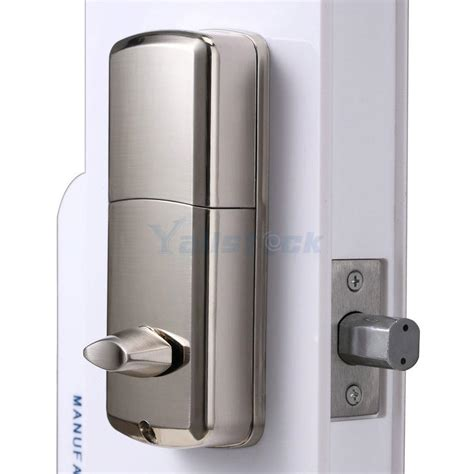 Keypad Front Door Lock Keyless Entry Deadbolt Smart Electronic Bluetooth Keypad Entry Door Lock