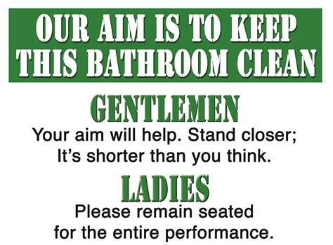 keep bathroom clean keep clean bathroom signs browse our range of humour signs
