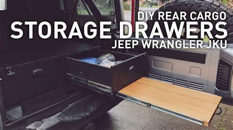 Jk Drawer System by Diy Drawer System For Jeep Wrangler Cing Overlanding