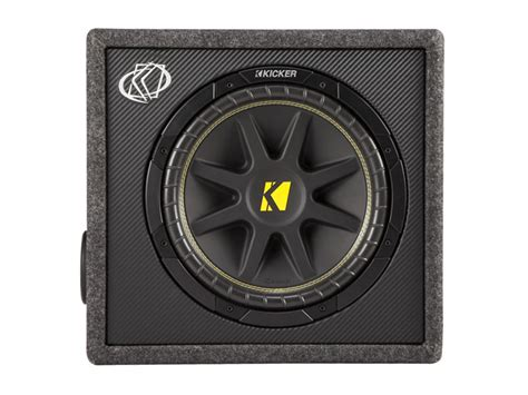 Kickers Safety 12 12 quot comp loaded subwoofer box kicker 174
