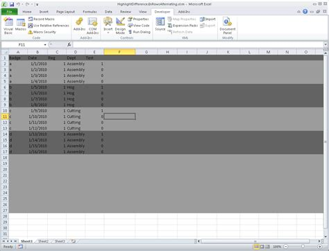 excel 2010 complete tutorial excel vba conditional formatting row excel vba last row