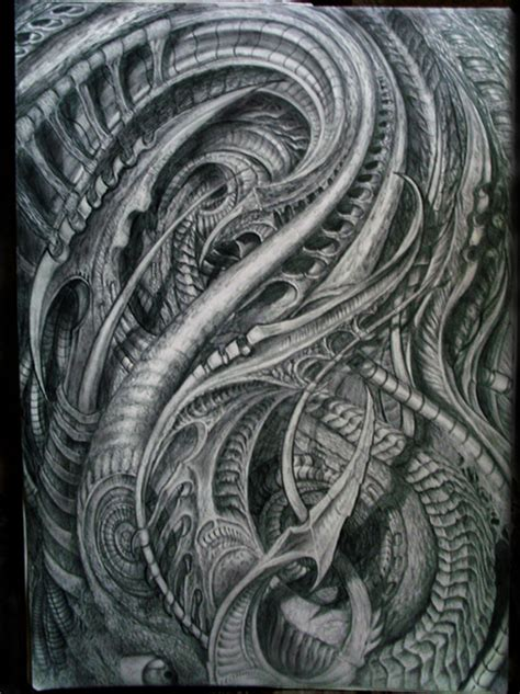 biomech by metapharistic on deviantart