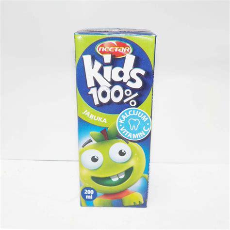 Paket E 100 Kits nectar 100 jabuka sok 0 2l tetrapak paket 24