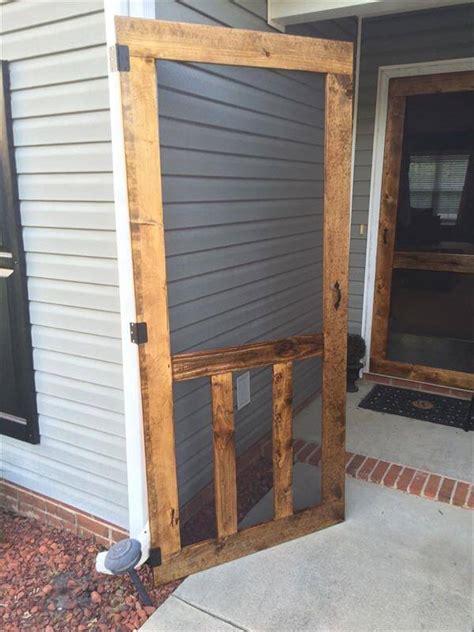 popular woodworking plans screen door diy simple woodworking diy pallet screen door pallet furniture diy