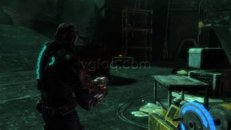 dead space 3 bench dead space 3 chapter 17 collectibles locations vgfaq