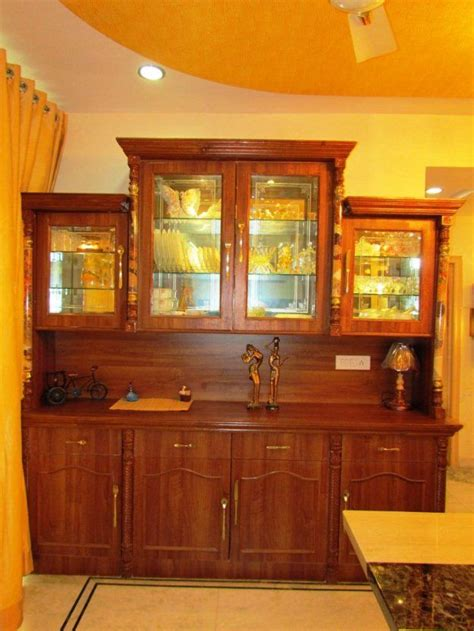 Wall Unit Designs For Dining Room by Crockery Unit Designs In India Search Dining
