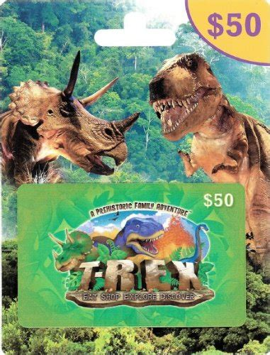 Discover Gift Card Partners - t rex cafe 50 gift card arts entertainment party celebration giving cards certificates