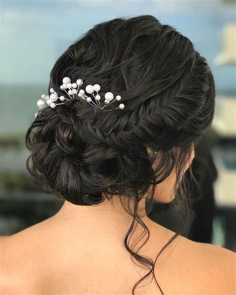 soft braided updo bridal hairstyle get inspired by fabulous wedding hairstyles
