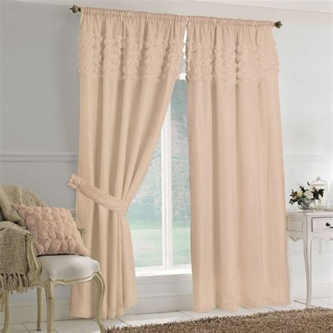 voile curtains rimini roses pencil pleat lined voile curtains coffee
