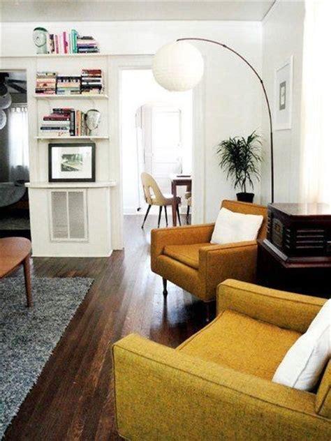 midcentury modern designed rooms messagenote