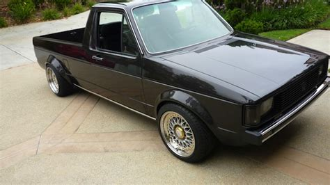 volkswagen rabbit truck custom 1982 volkswagen rabbit pickup german cars for sale blog