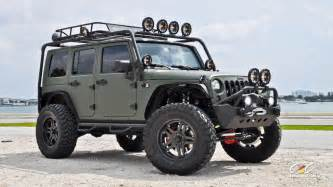 Wrangler Jeep Modified Jeep Wrangler 4