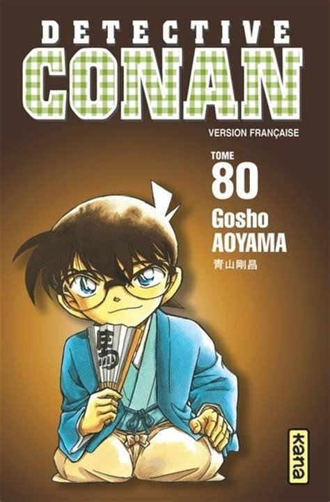 Detective Conan 66 70 Aoyama Gosho d 233 tective conan tome 80 livraddict