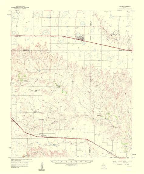 groom texas map txgr0004 a jpg