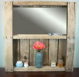 Cabin Bathroom Mirrors Rustic Bathroom Mirror Shelf Rustic Wine Rack By Mybrothersbarn Wood