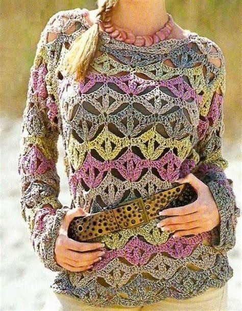 crochet pattern jersey patrones crochet jerseys tric 212 diversos modelitos