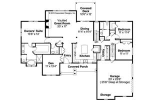 Ranch House Floor Plans by Ranch House Plans Manor Heart 10 590 Associated Designs