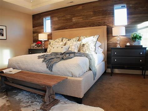 decorate your bedroom with wood panels hgtv photo page hgtv