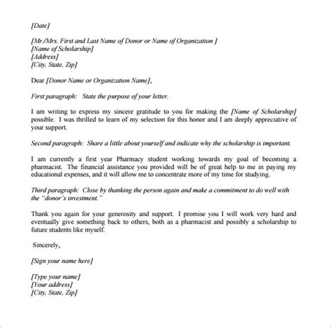 thank you letter after pharmacist sle pharmacy letter template 14 free documents in