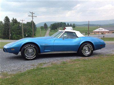 find used 1975 chevrolet corvette convertible loaded s matching a c 4 speed in find used 1975 chevrolet corvette convertible loaded s matching a c 4 speed in