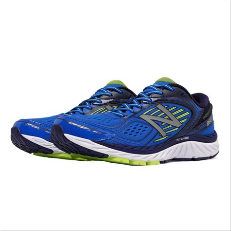 nb sports shoes new balance 860 v7 sport shoes blue and yellow buy new