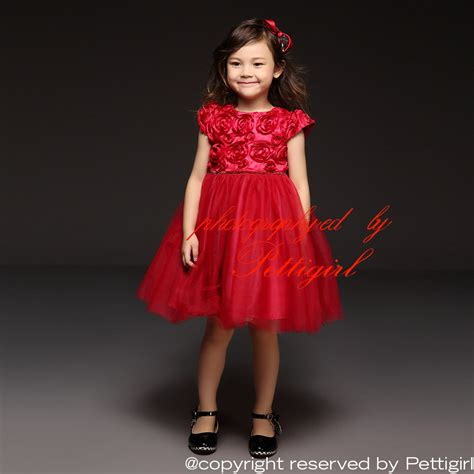 girls party dresses for 2015 new 2015 girls party dresses hot red rose top grace tulle